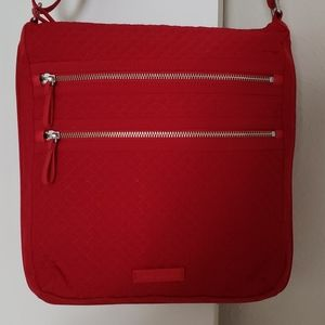 Vera Bradley cross body bag with charger pocket